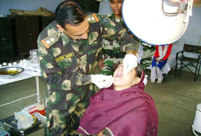 ARMY DENTAL CORPS , DENTIST IN ARMY